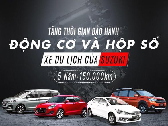 Việt Nam Suzuki tăng thời hạn bảo hành 4 dòng xe New Ertiga, Xl7, Ciaz, New Swift - Ảnh 1.
