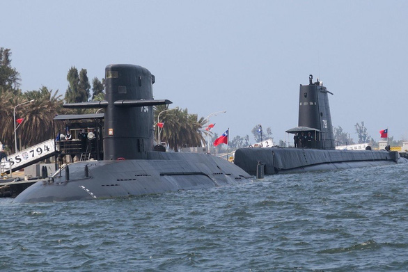 Mỹ duyệt bán công nghệ tàu ngầm cho Đài Loan - Ảnh 1.