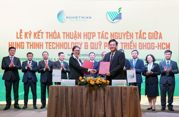 Tập đoàn Hưng Thịnh và Đại học Quốc gia TP.HCM ký kết hợp tác chiến lược - Ảnh 2.