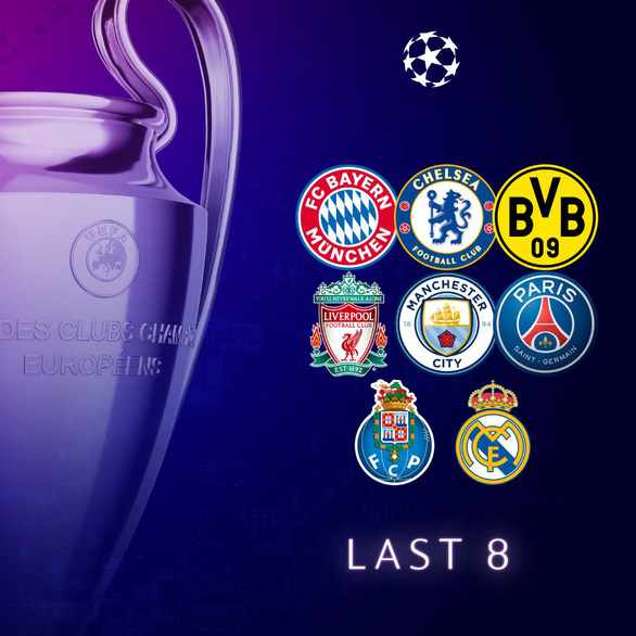 Bóng đá Anh áp đảo vòng tứ kết Champions League - Ảnh 1.