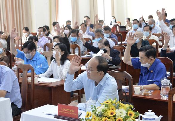 TP.HCM có 15 đại biểu tái cử đại biểu Quốc hội khóa XV - Ảnh 1.
