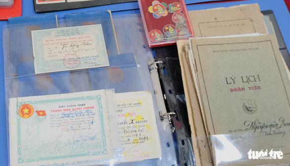 1.000 hình ảnh, hiện vật Ký ức tuổi trẻ góp về bảo tàng Tuổi trẻ Việt Nam - Ảnh 4.