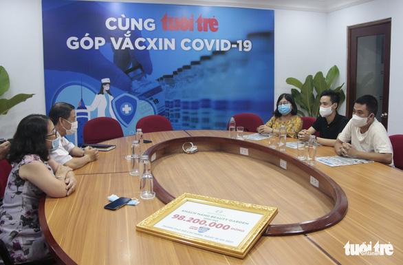 Khách hàng Beauty Garden ủng hộ gần 100 triệu cho chương trình Cùng Tuổi Trẻ góp vắc xin COVID-19 - Ảnh 1.