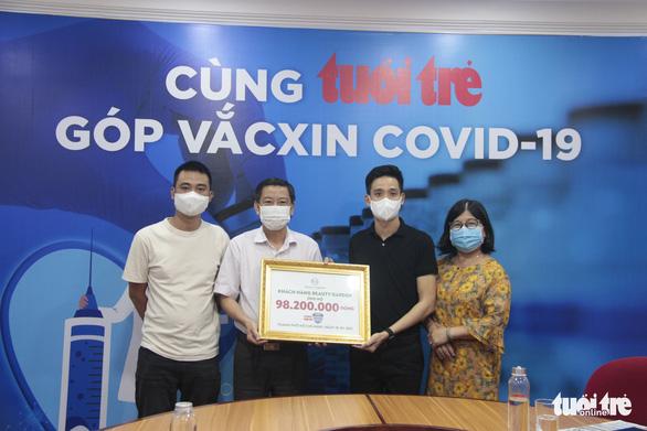 Khách hàng Beauty Garden ủng hộ gần 100 triệu cho chương trình Cùng Tuổi Trẻ góp vắc xin COVID-19 - Ảnh 2.