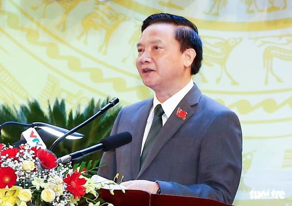 Bí thư Khánh Hòa rút ứng cử đại biểu Quốc hội theo diện tỉnh giới thiệu - Ảnh 1.