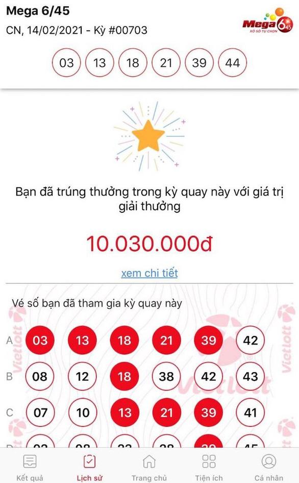 Hàng tỉ đồng đã được trả thưởng cho người chơi Vietlott qua điện thoại - Ảnh 2.