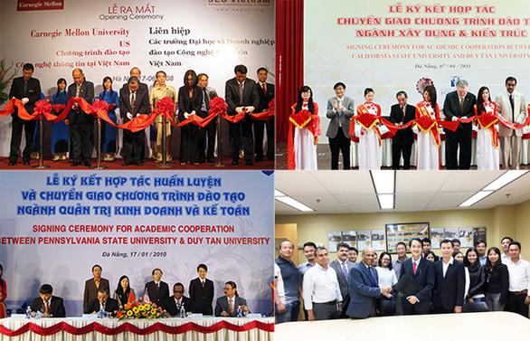 Các chương trình tiên tiến và quốc tế tại Trường ĐH Duy Tân - Ảnh 2.