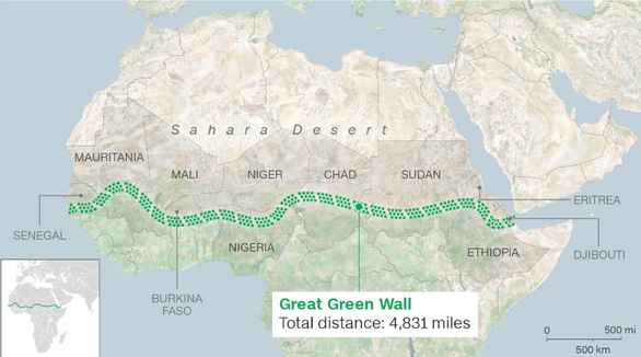Con người đấu sa mạc: Giành lại 100 triệu hecta đất - Ảnh 2.
