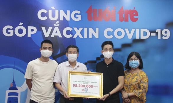 Hơn 7,37 tỉ đồng cho chương trình Cùng Tuổi Trẻ góp vắc xin COVID-19 - Ảnh 1.