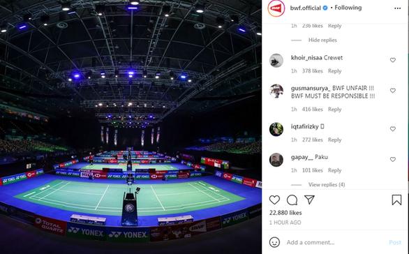 Indonesia nổi giận khi buộc rút lui khỏi giải cầu lông All England Open vì COVID-19 - Ảnh 1.