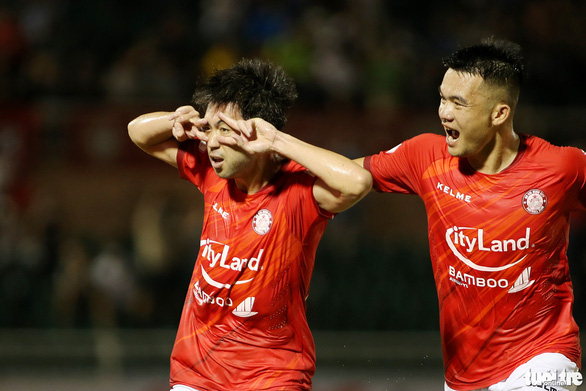 Lee Nguyễn nói gì sau bàn thắng đầu tiên tại V-League 2021? - Ảnh 7.