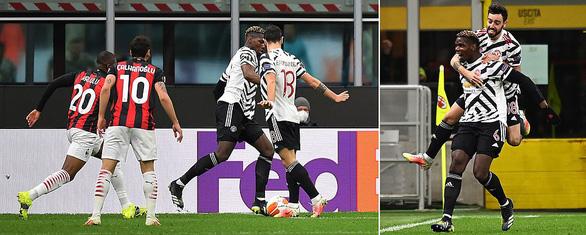 Vào sân từ ghế dự bị, Pogba ghi bàn thắng đưa Manchester United vào tứ kết - Ảnh 1.
