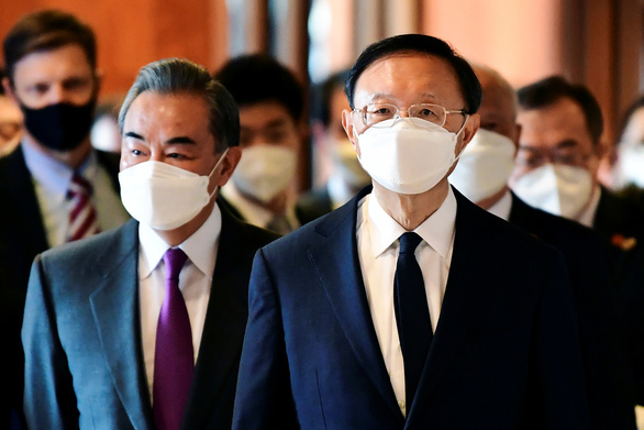 Gặp nhau tại Mỹ, ngoại trưởng Mỹ và Trung Quốc đều không nhân nhượng - Ảnh 1.