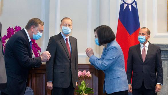 Nghị sĩ Mỹ trình dự luật kêu gọi ông Biden khôi phục quan hệ với Đài Loan - Ảnh 2.