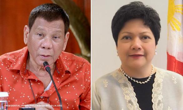 Philippines đuổi cổ bà đại sứ đánh đập, véo tai người giúp việc - Ảnh 1.