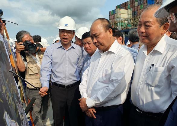 Thủ tướng: Phải làm cho Cái Mép - Thị Vải trở thành cảng biển hiện đại - Ảnh 1.