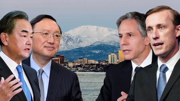 Trung Quốc đem ngoại giao chiến lang đến Alaska - Ảnh 1.