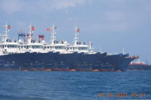 Hoạt động của tàu Trung Quốc xâm phạm chủ quyền Việt Nam ở Biển Đông - Ảnh 1.