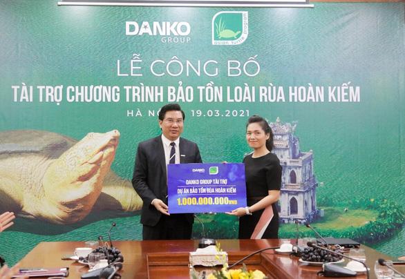 Danko Group chung tay bảo tồn rùa Hoàn Kiếm - Ảnh 1.