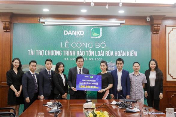 Danko Group chung tay bảo tồn rùa Hoàn Kiếm - Ảnh 2.