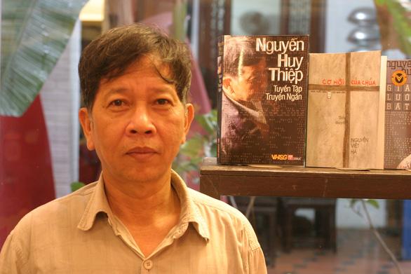 Nhà văn Nguyễn Huy Thiệp - Ảnh: NGUYỄN ĐÌNH TOÁN