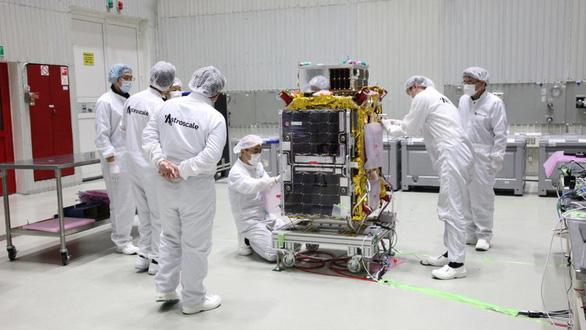 Bắt đầu thử nghiệm dọn rác trong không gian - Ảnh 2.