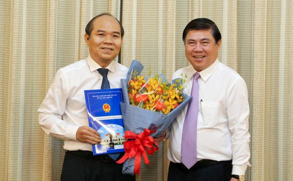 Tân phó giám đốc Sở TN-MT TP.HCM cam kết tháo gỡ vướng mắc cho người dân - Ảnh 1.
