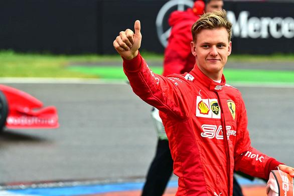 Mick Schumacher trên con đường của cha - Ảnh 1.