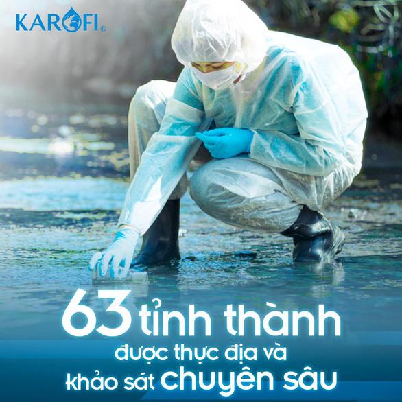 Karofi và hành trình 15 năm trở thành chuyên gia siêu thấu hiểu nước - Ảnh 2.