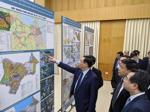 Quy hoạch phân khu nội đô lịch sử Hà Nội: sẽ giảm 215.000 dân ở 4 quận - Ảnh 1.