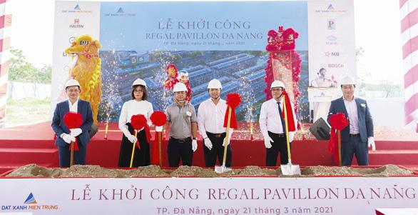 Khởi công shophouse Regal Pavillon trung tâm Đà Nẵng - Ảnh 1.