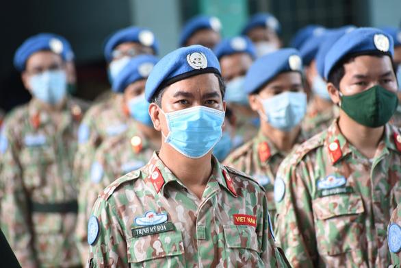 Đoàn bệnh viện dã chiến lên đường gìn giữ hòa bình: Nỗ lực hoàn thành mục tiêu kép - Ảnh 1.