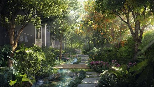Thiên đường nghỉ dưỡng Bali giữa lòng Ecopark - Ảnh 3.