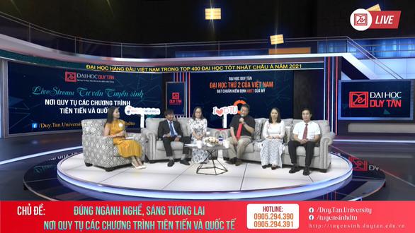 DTU phát sóng chuỗi livestream tư vấn tuyển sinh 2021 - Ảnh 3.