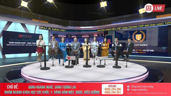 DTU phát sóng chuỗi livestream tư vấn tuyển sinh 2021 - Ảnh 4.