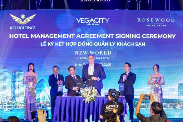 Vega City Nha Trang công bố đối tác chiến lược