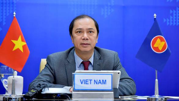 ASEAN, New Zealand khẳng định phối hợp chặt chẽ đảm bảo an ninh Biển Đông và khu vực - Ảnh 1.