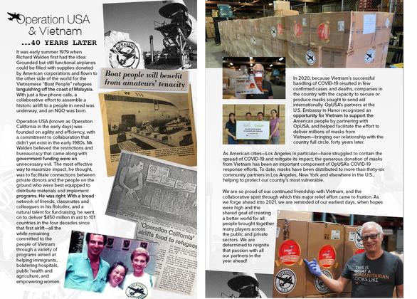 Khẩu trang Việt Nam gửi tặng đã được trao tận tay người dân Mỹ và châu Âu thế nào? - Ảnh 1.