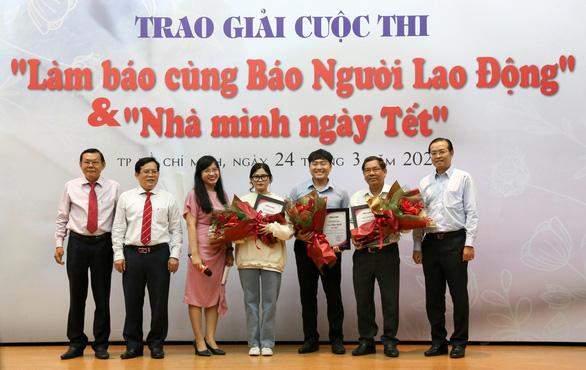 Trao giải cuộc thi Làm báo cùng báo Người Lao Động và Nhà mình ngày Tết - Ảnh 1.