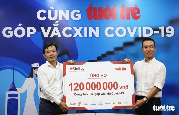 Công ty AB InBev ủng hộ 120 triệu đồng Cùng Tuổi Trẻ góp vắc xin COVID-19 - Ảnh 3.