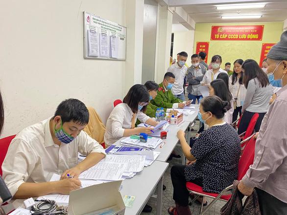 Hà Nội đã cấp hơn 1 triệu hồ sơ căn cước công dân gắn chip - Ảnh 1.