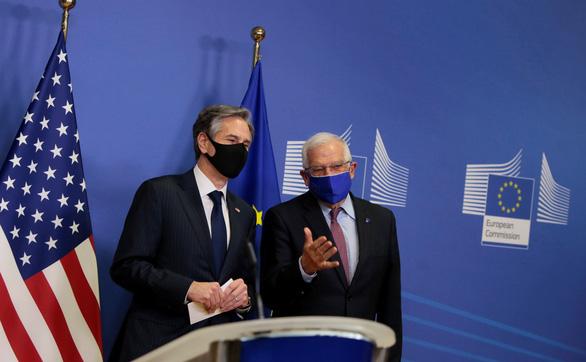 Mỹ - EU khởi động đối thoại về Trung Quốc - Ảnh 1.