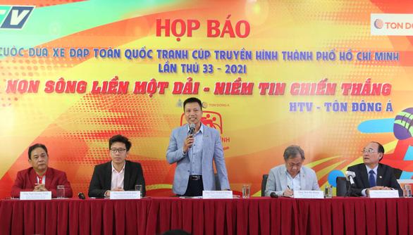 Cuộc đua Cúp truyền hình TP.HCM 2021 có gần 2 tỉ tiền thưởng - Ảnh 1.