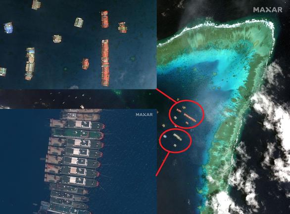 Philippines đính chính cấu trúc nhân tạo ở cụm Sinh Tồn không mới - Ảnh 3.