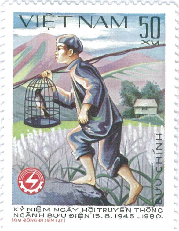 Những người anh hùng trẻ tuổi trên tem bưu chính - Ảnh 4.