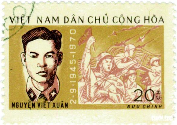 Những người anh hùng trẻ tuổi trên tem bưu chính - Ảnh 7.