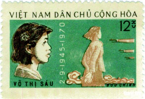 Những người anh hùng trẻ tuổi trên tem bưu chính - Ảnh 5.
