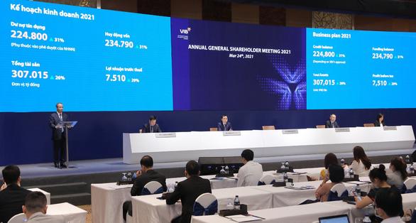 VIB 2021 chia cổ phiếu thưởng 40% - Ảnh 1.