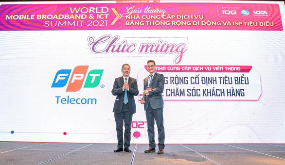 FPT Telecom nhận giải thưởng Chất lượng dịch vụ được Khách hàng hài lòng nhất - Ảnh 1.