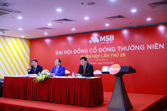MSB đặt mục tiêu lợi nhuận 2021 tăng 30% - Ảnh 1.